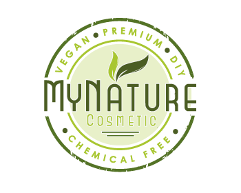 MyNatureCosmetic logo design