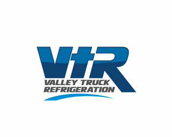 Valley Truck Refrigeration logo design