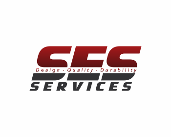 SES Services logo design