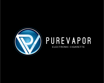Pure Vapor logo design