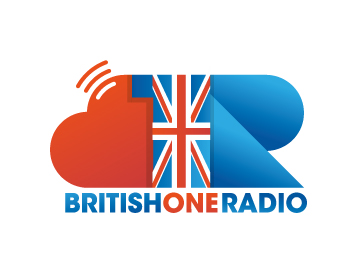 British One Radio logo design