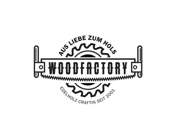 Woodfactory logo design