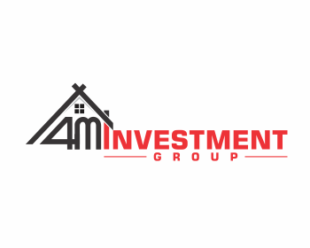 4M Investment Group logo design