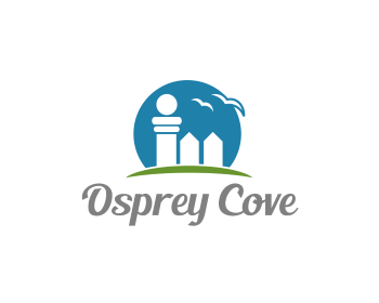 Osprey Cove logo design