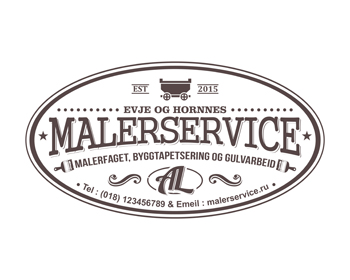 Malerservice logo design