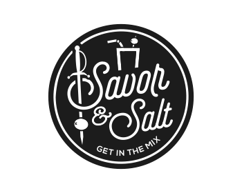 Savor & Salt logo design