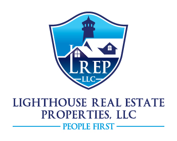 Light House Real Estate Properties logo design