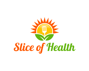 Slice of Health logo design