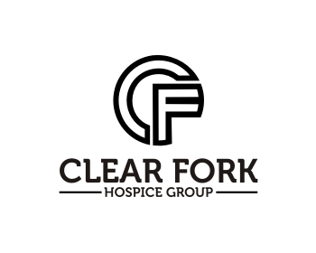 Clear Fork Hospice Group logo design