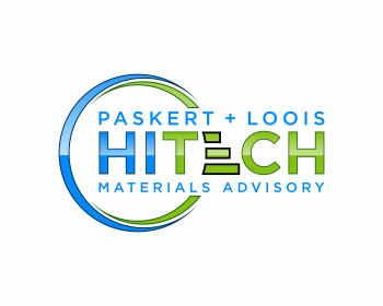 Logo design for Paskert + Loois HiTech Materials Advisory