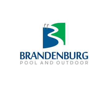 Logo design for Brandenburg Pool and Outdoor