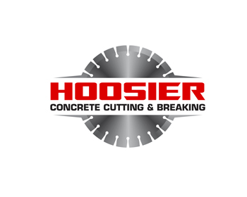 Hoosier Concrete Cutting & Breaking logo design