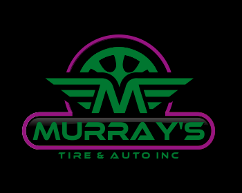 MURRAY'S TIRE & AUTO INC logo design
