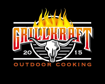 grillkraft logo design
