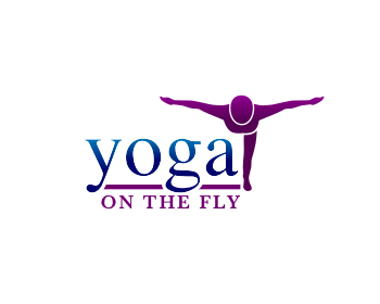 Yoga on the Fly logo design