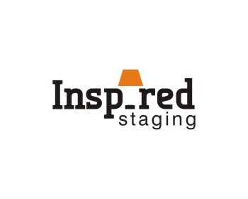 Inspired Staging logo design