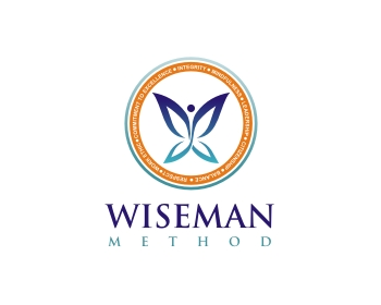 Wiseman Method logo design