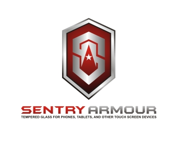 sentry armour logo design