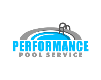 Performance Pool Service logo design
