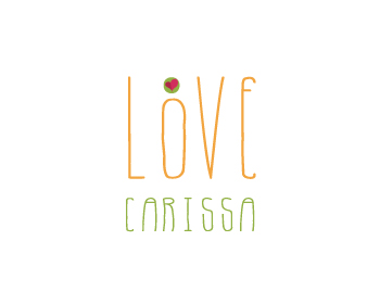 Love, Carissa logo design