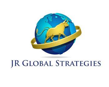JR Global Strategies logo design