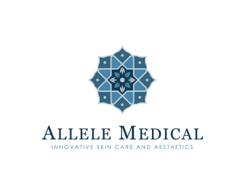 Allele Medical logo design