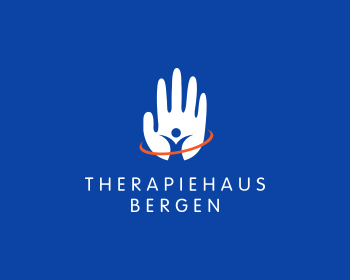 Therapiehaus Bergen logo design