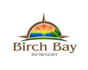 Birch Bay RV Resort logo design