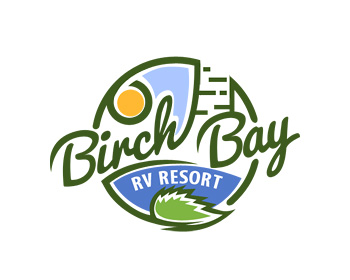 Logo design for Birch Bay RV Resort