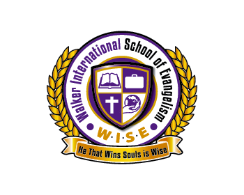 Logo per Walker International School of Evangelism (WISE)