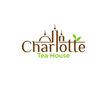 Logo design for Charlotte Tea House