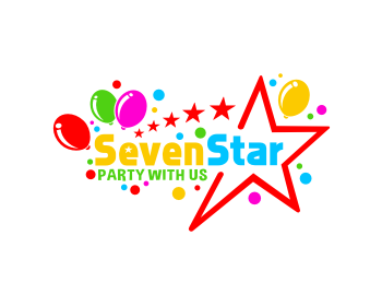 Seven Star School logo design