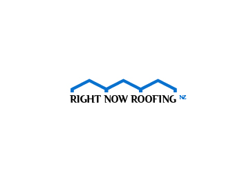 Right Now Roofing NZ logo design