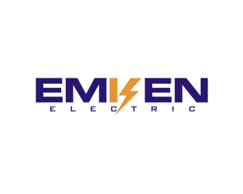Emken Electric logo design