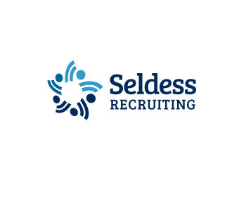 Seldess Recuriting logo design