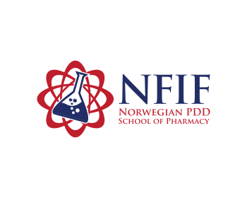 Norwegian PDD School of Pharmacy logo design