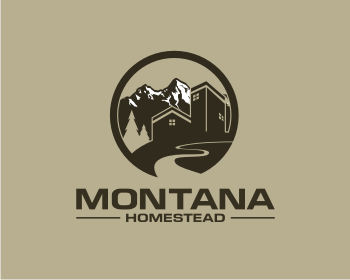 Montana Homestead logo design