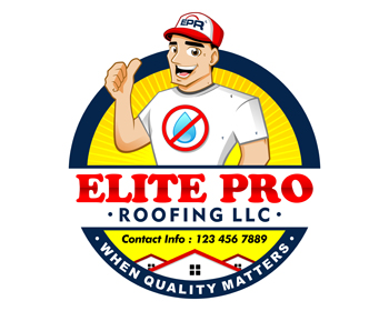 Elite Pro Roofing LLC. logo design
