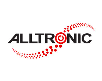 Alltronic logo design