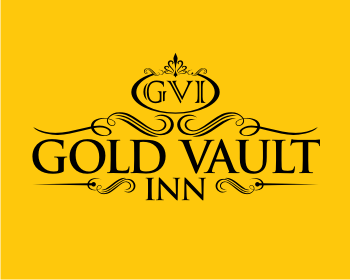 Logo design for Gold Vault Inn