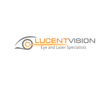 Logo Lucent Vision (main name) Eye and Laser Specialist (below)