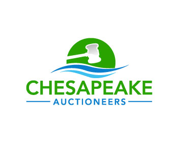 Chesapeake Auctioneers logo design