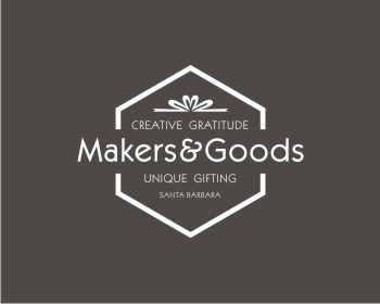Makers and Goods logo design