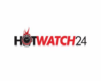 HOTWATCH24 logo design