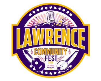 Lawrence Community Fest logo design