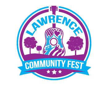 Logo design for Lawrence Community Fest