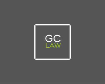 GC LAW logo design