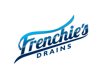 Frenchie's Drains logo design
