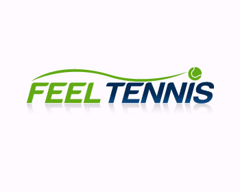 FeelTennis logo design