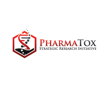 PharmaTox Strategic Research Initiative logo design